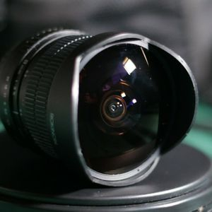 Rokinon 8mm 1:3.5 Fisheye Canon EF for Sale in Sacramento, CA