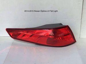 2014-2015 Kia Óptima Driver Side Tail Light for Sale in Jurupa Valley, CA