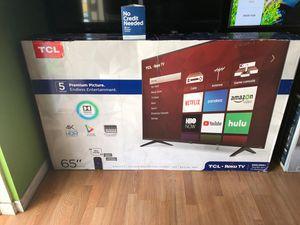 65 TCL smart 4K UHD roku tv for Sale in Covina, CA