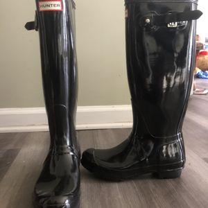 Hunter Tall Gloss Rain Boots for Sale in Alpharetta, GA