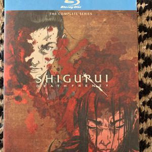 Shiguriu Death Frenzy Anime Complete Series Blu-ray for Sale in Anaheim, CA