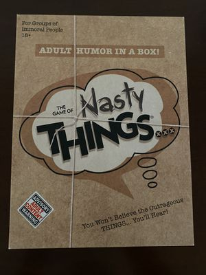 Nasty Things Board Game for Sale in Los Angeles, CA