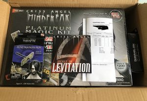 NEW Criss Angel Platinum Magic Kit with Extras!! for Sale in Livermore, CA
