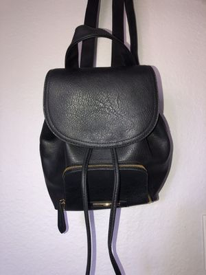 BRAND NEW black mini backpack for Sale in Los Angeles, CA