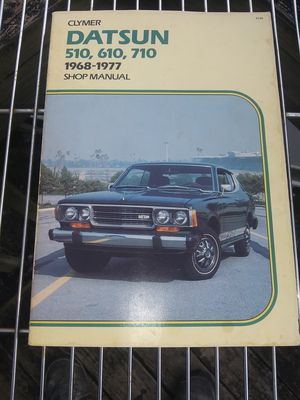 CLYMER Publications #A149 DATSUN 510, 610, 710 Shop Manual (1968-1977) for Sale in Flat Rock, NC