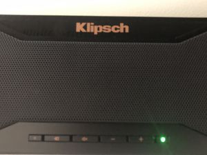 Klipsch: sound bar and sub-woofer for Sale in Fairfax, VA
