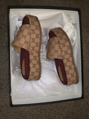 Gucci platform slides for Sale in Hampton, VA