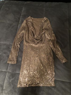 Gold Sequin Dress for Sale in Merced, CA