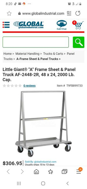 Heavy duty drywall cart for Sale in NEW PRT RCHY, FL