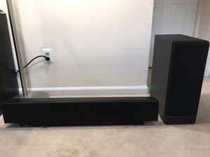 Yamaha Soundbar with Subwoofer for Sale in Arlington, VA