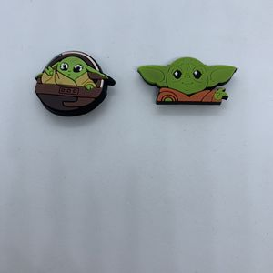 Baby Yoda Charms For Crocs Shoes 2 Pcs 5$ for Sale in Hollywood, FL