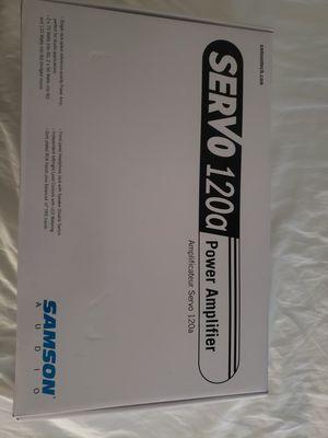 Servo 120a power amplifier for Sale in Fresno, CA