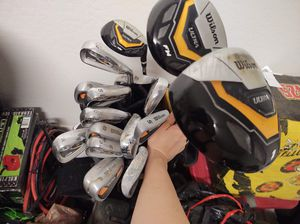 Wilson Golf clubs 17 for Sale in Waddell, AZ