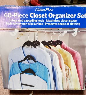 60 piece Closet Organizer Set for Sale in Denver, CO