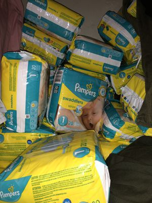 Pampers size 1 for Sale in Brooklyn, NY