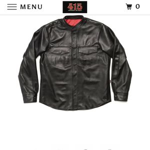 415 Leather Shirt for Sale in Byron, CA
