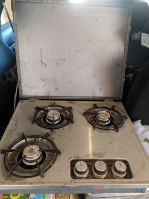 Old school Coleman stove from pop up camper. for Sale in Mesa, AZ
