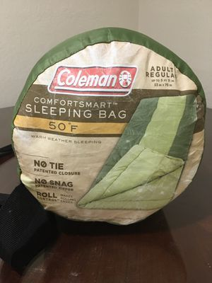 Coleman 50 Degree Sleeping Bag for Sale in Monroe, WA