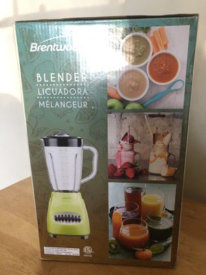 Brentwood blender new with plastic jar for Sale in Costa Mesa, CA