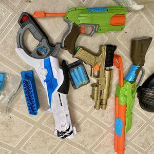 4 NERF GUNS for Sale in Glendale, AZ
