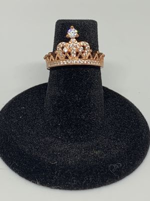 Sterling silver women's crown ring for Sale in Bingham Canyon, UT
