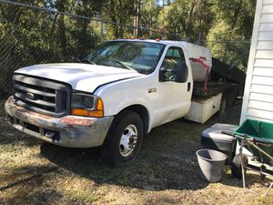 2000 Ford F-350 XL Super Duty- Flat Bed for Sale in Dade City, FL