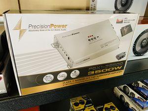 Precision Power 3,500 Monoblock Amp with Built in Epicenter for Sale in San Bernardino, CA