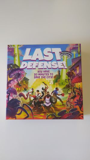 Last Defense! board game for Sale in Longmont, CO