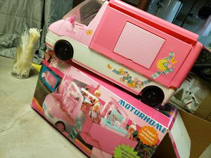 Vintage collectible barbie maxi van rv motorhome 90's for Sale in Oak Lawn, IL