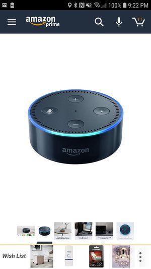 Alexa 2nd generation smart speaker for Sale in Alexandria, VA