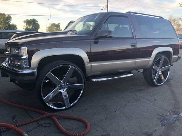 1997 Chevy Tahoe 2dr on 30s for Sale in Las Vegas, NV ...