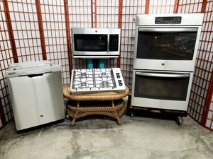 """GE Stainless Steel Appliances with 30"""" Cooktop and Double Oven for Sale in North Las Vegas, NV"""