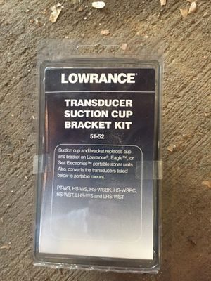 Transducer Suction Cup Transducer Bracket 51-52 for Sale in Minocqua, WI