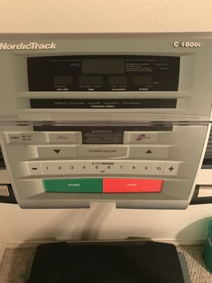 NordicTrack Treadmill C1800i for Sale in McKinney, TX