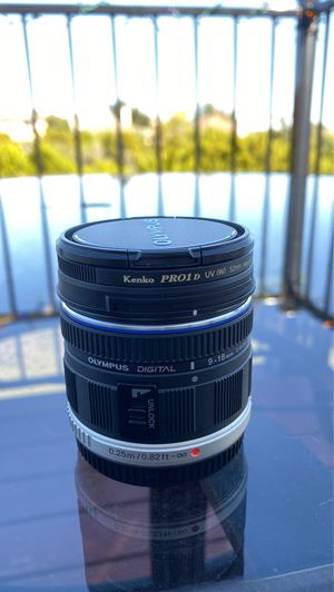 Olympus Digital 9-18mm f4-5.6 Camera Lens for Sale in Dripping Springs, TX