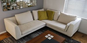 Sectional sofa by alchemy collection was $4,500 new for Sale in Seattle, WA