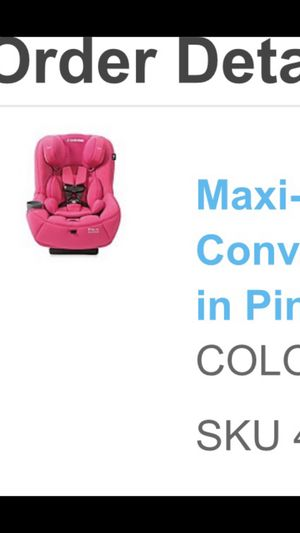 Maxi cosi car seat in great condition most comfortable car seat thick padding for Sale in Fort Lauderdale, FL