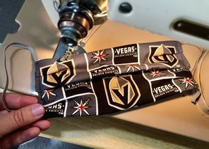 Vegas Golden Knights face covering! for Sale in Las Vegas, NV