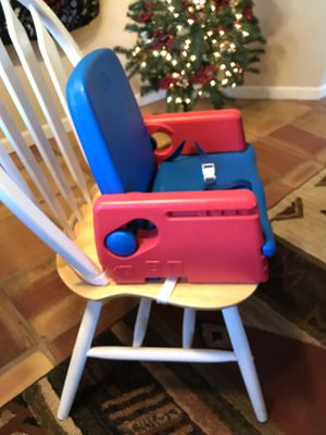 Toddler Table Chair Booster Seat for Sale in Colorado Springs, CO