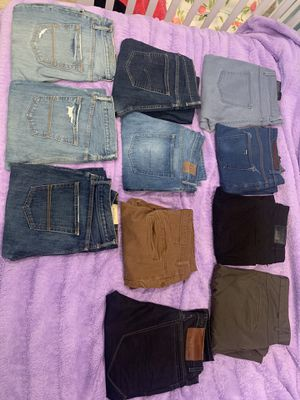 ZARA MAN, Abercrombie & Fitch, GAP, Levi's for Sale in Los Angeles, CA
