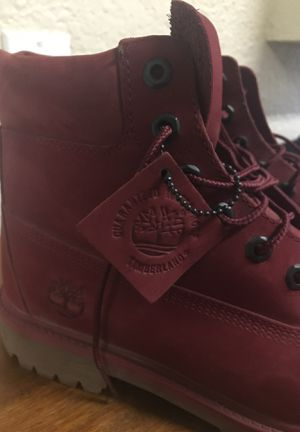 Red Timberland boots for Sale in Oakley, CA