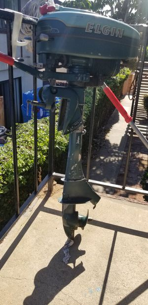 1954 ELGIN OUTBOARD MOTOR for Sale in Imperial Beach, CA