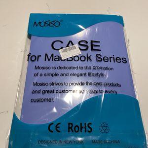 MACBOOK PRO 16in CASE (BLUE) for Sale in Dallas, TX