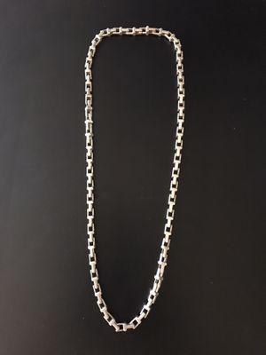 Tiffany & Co 925 silver pure solid chain for Sale in Miami Beach, FL