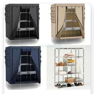 Fabric wardrobe room organizer portable.. closet . Organizador para ropa new !! for Sale in Carson, CA