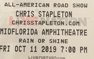 Ga pit ticket for tonight for Sale in Tampa, FL