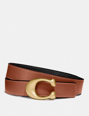 COACH SCULPTED SIGNATURE REVERSIBLE BELT (S/M) for Sale in Tamarac, FL
