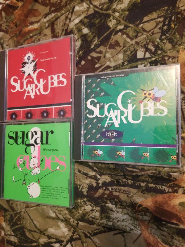 Sugarcubes CD lots