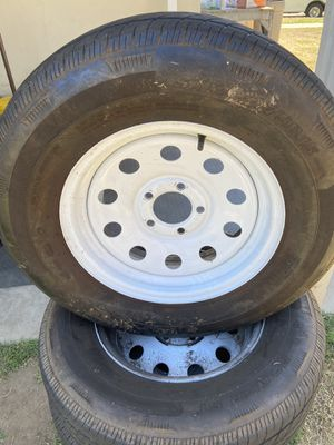 205/70/15 trailer tires on 5x4.5 wheels for Sale in Azusa, CA