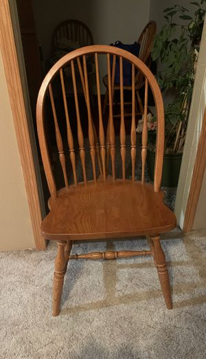 4 solid Oak Chairs for Sale in Kingsley, IA